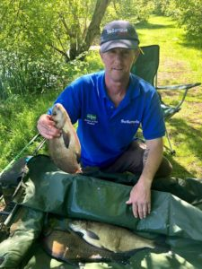 Martin White from Market Lavington,with a lovely net of fish,using our Yellow Baninion RTGS and a 6mm Yellow Gofter!