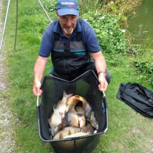 John Fagg and a brilliant net of fish from Whiteacres all on our baits, thanks for the pic John!