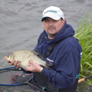 Rich Phillipps with another bream, Rich has done so well on these at Town Parks!