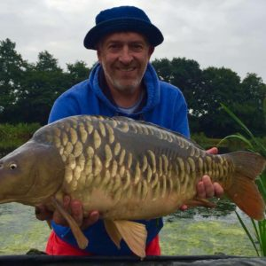 Jerry King,with a lovely looking fully scaled mirror taken on our yellow Gofters, well done Jerry!