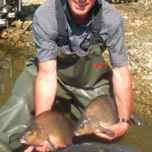 Spurs fan Graham Clarridge with some awesome slabs from Ardley on our RTGs and Yellow Gofters!