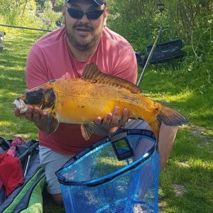 Craig Hiscock landed this stunning Koi on our RTGs!