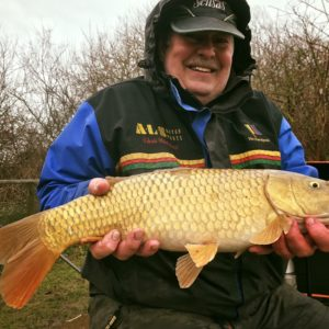 Chris with a huge Goodiford common we have had some terrific trips there!