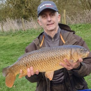 Eddie Taylor Green with a pretty common from Rolphs lake on the Yellow Gofter over RTGs!