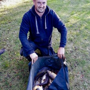 Chris Lister has also just broke his PB match weight with this 109lbs also at Oakford farm,congratulations Chris,chris used Boosted Yellow meat!