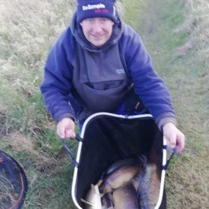 John Sanderson on form bagging this winter!